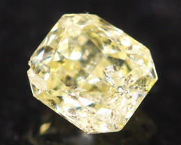 0.18Ct Untreated Fancy Diamond Natural Color R25
