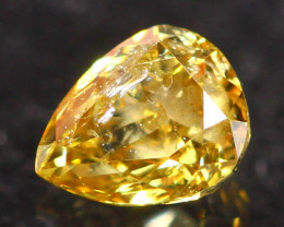 0.19Ct Untreated Fancy Diamond Natural Color R31