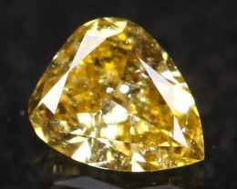 0.11Ct Untreated Fancy Diamond Natural Color R37