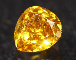 0.12Ct Untreated Fancy Diamond Natural Color R41