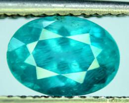 Great Luster 2.20 ct Paraiba Blue Color Apatite Gemstone