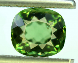 Great Luster 1.80 ct Paraiba Green Color Perfect Cut Apatite Gemstone