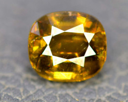 1.30 cts Natural Full Fire Chrome Sphene Titanite Gemstone