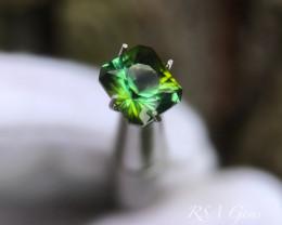 Green Tourmaline - 1.18 carats