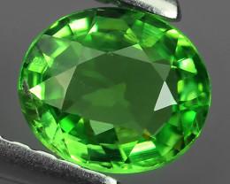 Natural Vivid Green Tsavorite Garnet Oval Faceted Kenya Gem $360.00