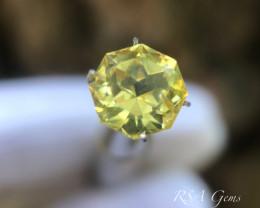 Yellow Sapphire - 3.40 carats