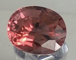 3.65ct Pretty Pinkish Orange Oval Tourmaline, - , A219 G190