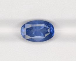 Blue Sapphire, 4.54ct - Mined in Sri Lanka | Certified by IGI