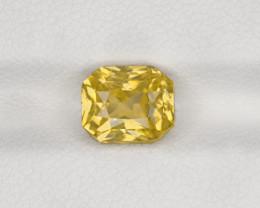 Yellow Sapphire, 3.02ct - Mined in Sri Lanka | Certified by IGI