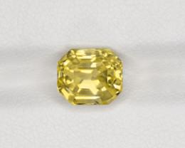 Yellow Sapphire, 3.69ct - Mined in Sri Lanka | Certified by IGI