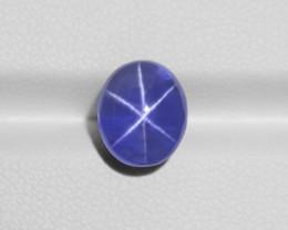 Blue Star Sapphire, 6.57ct - Mined in Sri Lanka | Certified by GRS