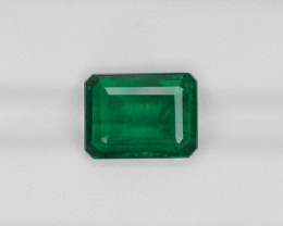 Emerald, 5.65ct - Mined in Zambia | Certified by GRS