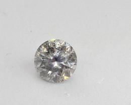 0.77ct  J - SI3 Diamond , 100% Natural Untreated