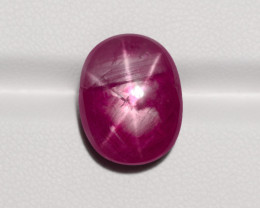 Star Ruby, 17.83ct - Mined in Burma | Certified by GRS