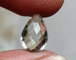 GREEN AMETHYST CHECKERED CUT Natural Gemstone VA6190