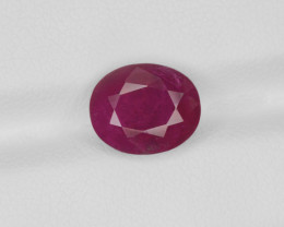 Ruby, 4.12ct - Mined in Burma | Certified by GRS
