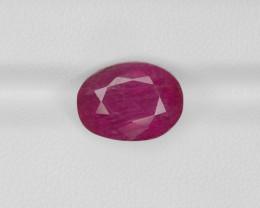 Ruby, 6.09ct - Mined in Burma | Certified by GRS