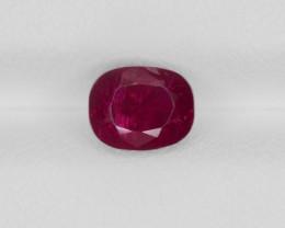 Ruby, 1.84ct - Mined in Burma | Certified by GRS