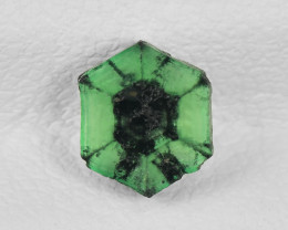 Trapiche Emerald, 0.70ct - Mined in Colombia | Certified by IGI