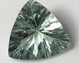 ⭐ Mint Fluorite Concave Trillion Cut No Reserve