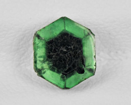Trapiche Emerald, 1.00ct - Mined in Colombia | Certified by IGI