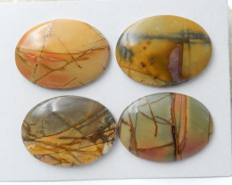 Wholesale Multi Color Jasper Gemstone Cabochons Jasper Cabochon, Polished G
