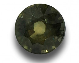 Natura lunheated Green Sapphire   Loose Gemstone   New  Sri Lanka