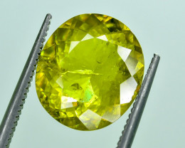 5.20 Crt Natural Malayaite Sphene Faceted Gemstone