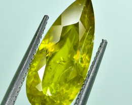 3.35 Crt Natural Malayaite Sphene Faceted Gemstone