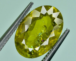 2.70 Crt Natural Malayaite Sphene Faceted Gemstone