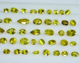 19.90 Crt Natural Malayaite Sphene Faceted Gemstone Lot 2