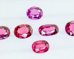 10.85 Crt Natural Rhodolite Garnet Faceted Gemstone Lot 2