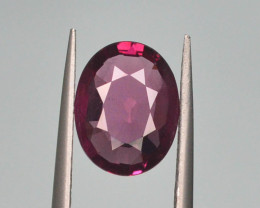 Rare 2.05 ct Grape Garnet one of a Kind Fire Mozambique
