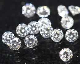 1.10mm 15Pcs D/F/VS Natural White Diamond C2411