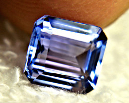 1.99 Ct. African IF Tanzanite - Gorgeous