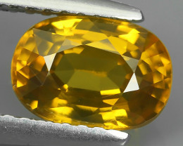 2.35 CTS ATTRACTIVE ULTRA RARE NATURAL ZIRCON OVAL EXECLLENT!!