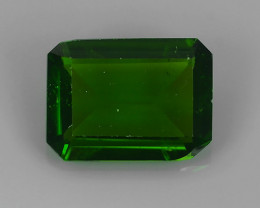 1.20 CTS WOW!! NATURAL ULTRA RARE CHROME TOP GREEN DIOPSIDE RUSSIA~