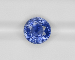 Blue Sapphire, 7.21ct - Mined in Kashmir | Certified by GIA