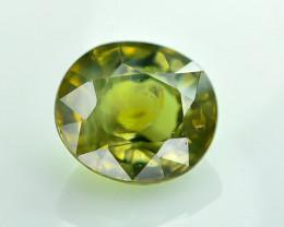 0.94 Crt Certified Chrysoberyl Alexandrite Faceted Gemstone