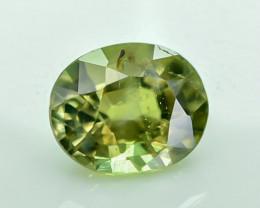 0.74 Crt Certified Chrysoberyl Alexandrite Faceted Gemstone
