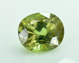 0.76 Crt Certified Chrysoberyl Alexandrite Faceted Gemstone