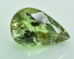 0.79 Crt Certified Chrysoberyl Alexandrite Faceted Gemstone