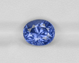 Blue Sapphire, 4.13ct - Mined in Sri Lanka | Certified by GIA