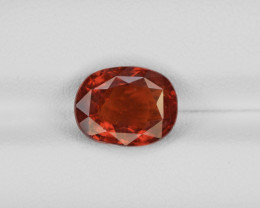 Hessonite Garnet, 3.92ct - Mined in Sri Lanka | Certified by IGI