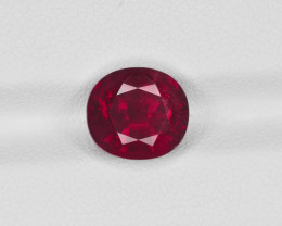 Ruby, 5.00ct - Mined in Mozambique | Certified by GRS