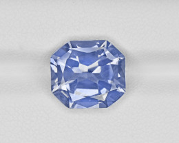 Blue Sapphire, 7.07ct - Mined in Kashmir | Certified by GIA & GRS