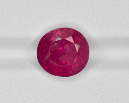 Ruby, 6.23ct - Mined in Burma | Certified by GRS