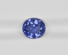 Blue Sapphire, 2.08ct - Mined in Sri Lanka | Certified by GRS
