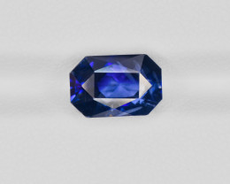 Blue Sapphire, 5.26ct - Mined in Kashmir | Certified by GIA & IGI
