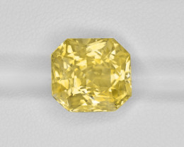Yellow Sapphire, 8.58ct - Mined in Sri Lanka | Certified by GRS